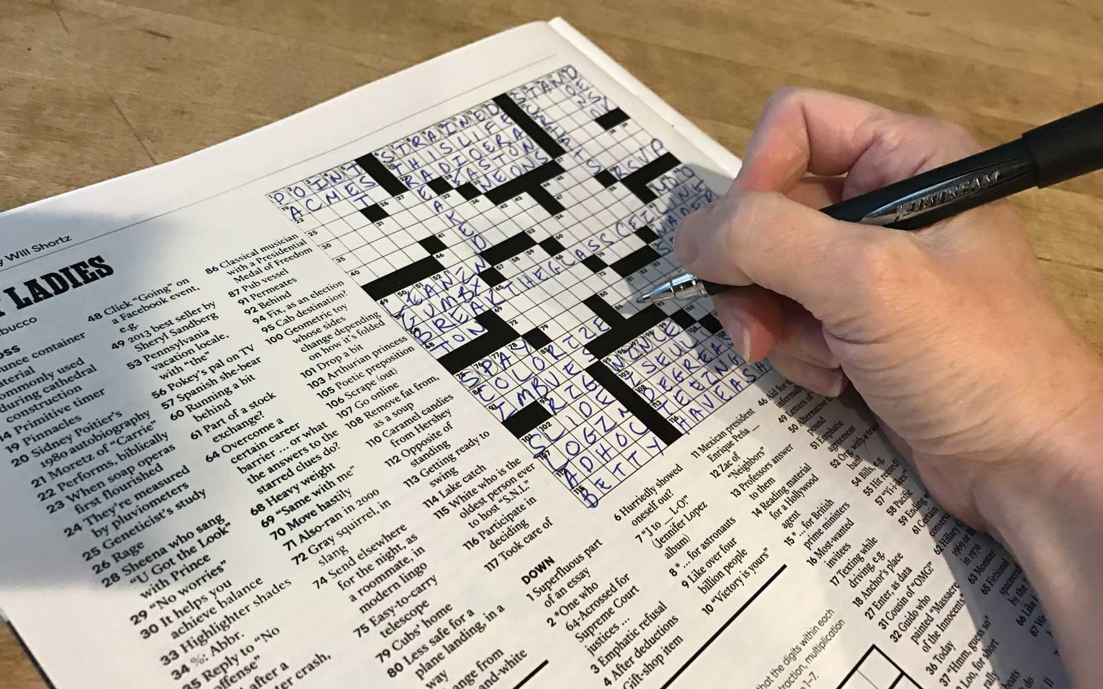 How To Create Your Very Own Crossword Puzzle Mcsweeney S Internet Tendency