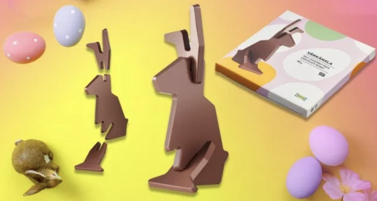 Reviews of New Food: IKEA's Flat-Packed Chocolate Easter Rabbit