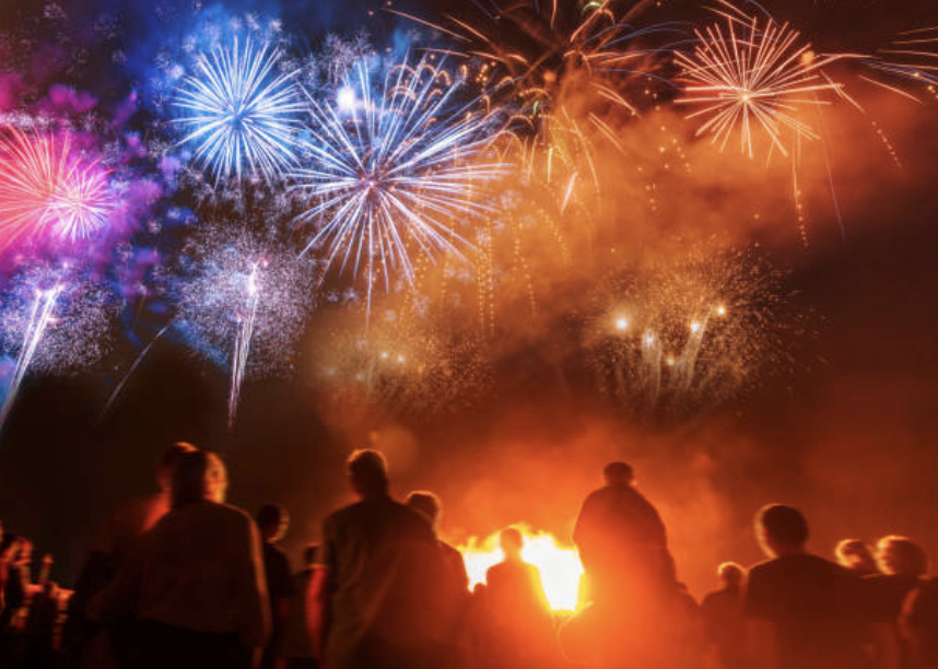 Some Notes On This Year's Fireworks Display