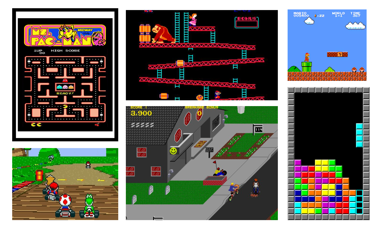 Classic Video Games for Adjunct Professors