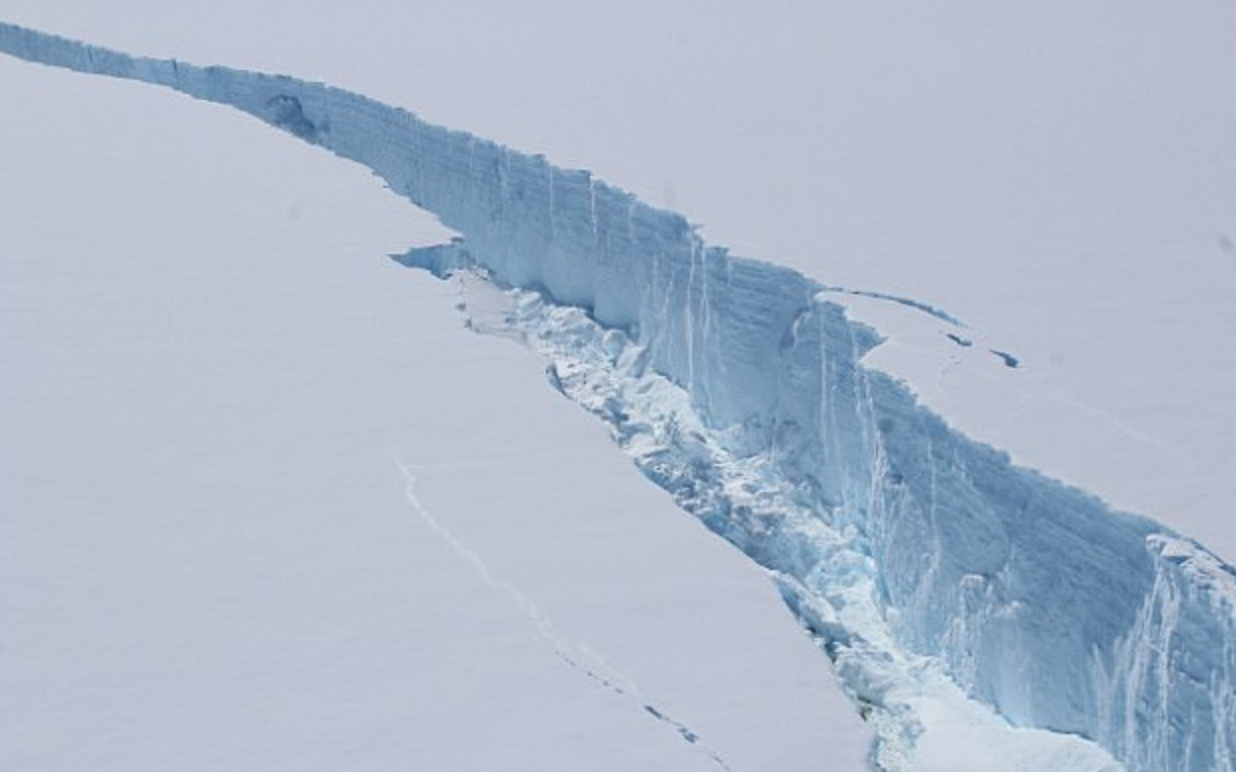 You're Invited to Our Destination Wedding Atop the Delaware Sized Iceberg That Just Broke Off the Larsen-C Ice Shelf!