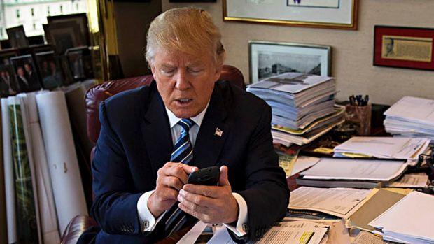 Image result for trump tweeting