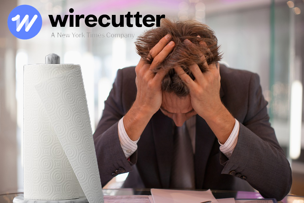 Wirecutter Review: The Best Paper Towel for Mopping Up Tears