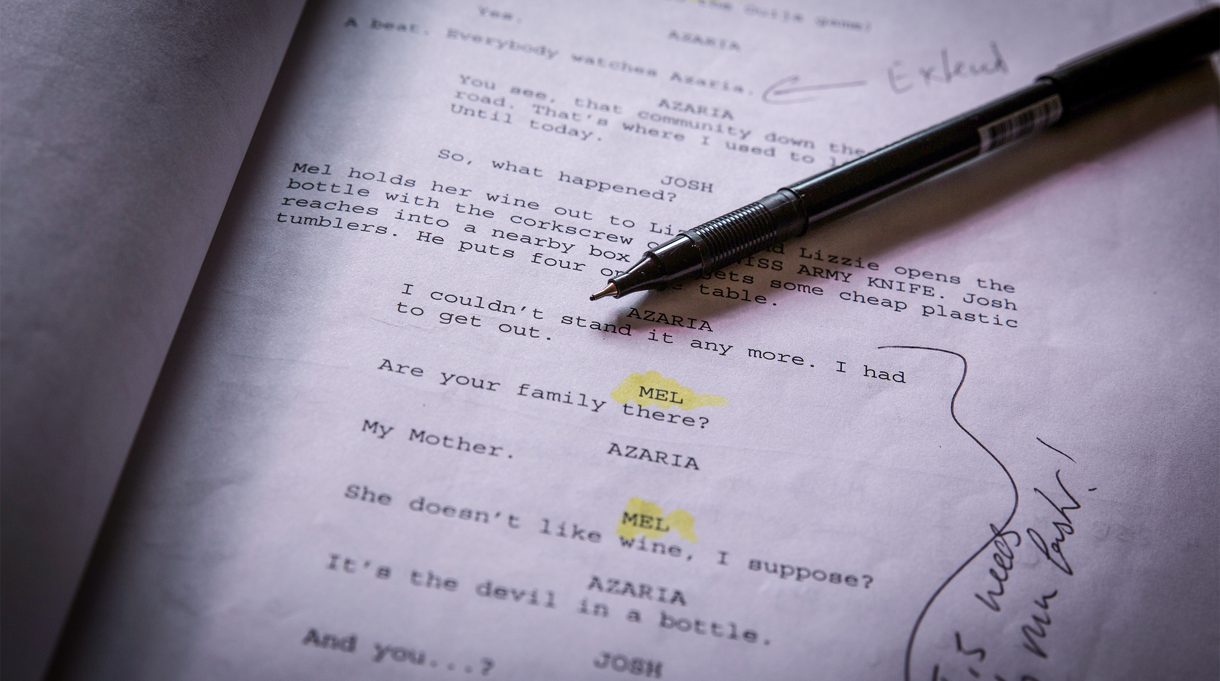 How to Talk About Your Screenplay in Any Social Situation