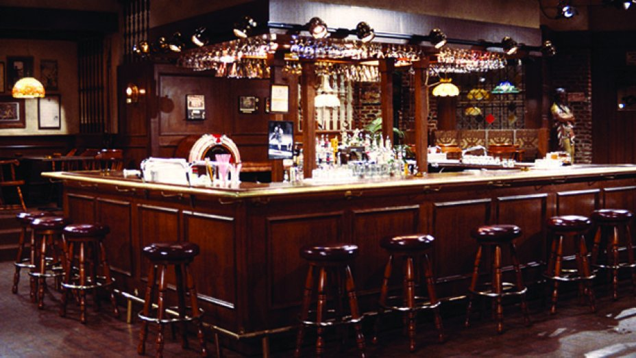 Yes I Built An Exact Replica Of The Bar From Cheers In My