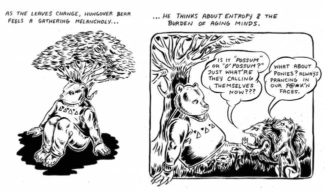 Hungover Bear and Friends: Put Your Arm Around My Shoulder